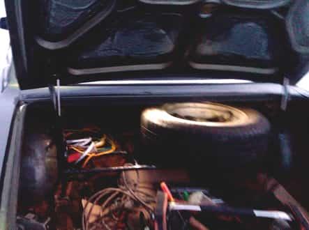 Открыть багажник Волга 31105